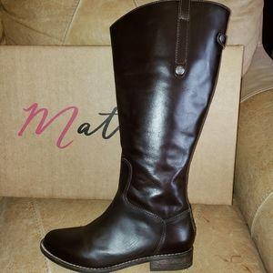 Matisse wide calf riding boots sz 7.5W